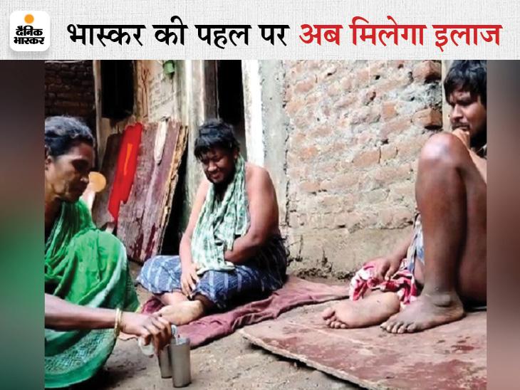 जरूरतमंदों को रक्तदान करने वाले लड़के बीमार हुए तो सबने मुंह मोड़ा; इलाज के लिए 3.5 लाख रु. चाहिए, सरकारी योजनाएं काम नहीं आईं|छत्तीसगढ़,Chhattisgarh - Dainik Bhaskar