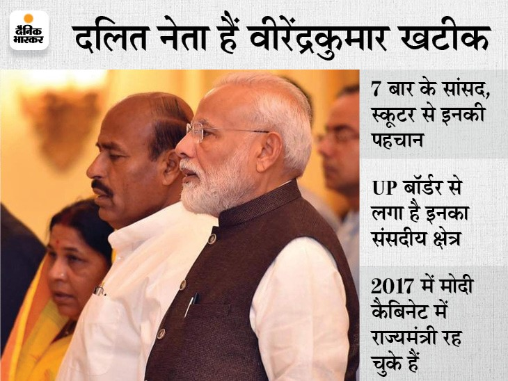 सिंधिया के साथ टीकमगढ़ सांसद वीरेंद्र खटीक का भी कोरोना टेस्ट, रिपोर्ट निगेटिव; विनय सहस्त्रबुद्धे को भी दिल्ली बुलाया|मध्य प्रदेश,Madhya Pradesh - Dainik Bhaskar