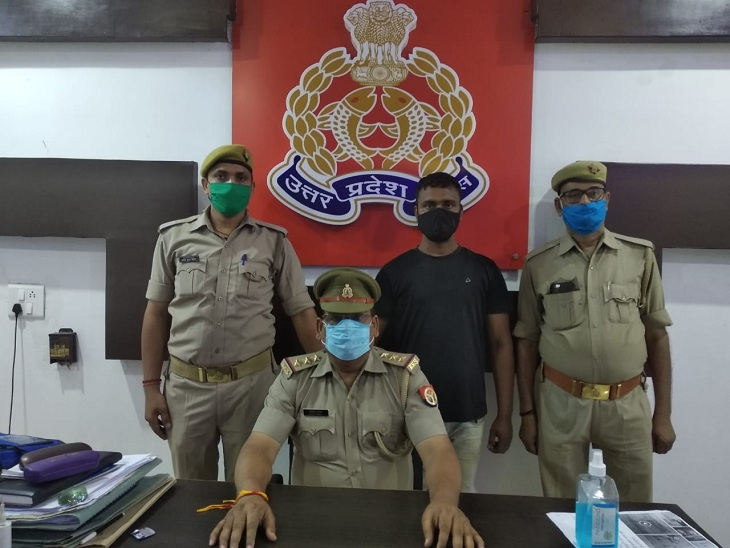 वाराणसी में शिक्षिका की हत्या में वांछित 15 हजार का इनामी बदमाश गिरफ्तार, 5 लाख लेकर मुहैया कराया था 2 हत्यारे|वाराणसी,Varanasi - Dainik Bhaskar