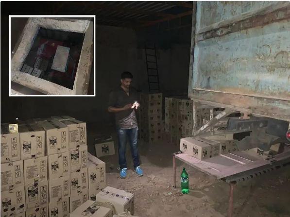 शराब के साथ 25 लाख का माल जब्त - Dainik Bhaskar