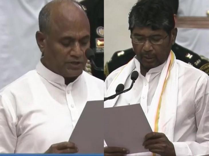 बिहार से दो लोगों को मिली कैबिनेट में जगह, नीतीश के करीबी RCP सिंह और LJP के बागी पशुपति पारस बने मंत्री|बिहार,Bihar - Dainik Bhaskar