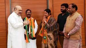 लोकसभा चुनाव से थोड़ा समय पहले राजद से भाजपा में शामिल हुईं थी अन्नपूर्णा देवी।