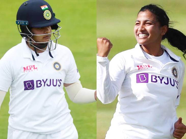 भारत की स्नेह राणा और शेफाली के बीच टक्कर; पुरुषों में न्यूजीलैंड को WTC फाइनल जिताने वाले जेमिसन प्रबल दावेदार|क्रिकेट,Cricket - Dainik Bhaskar