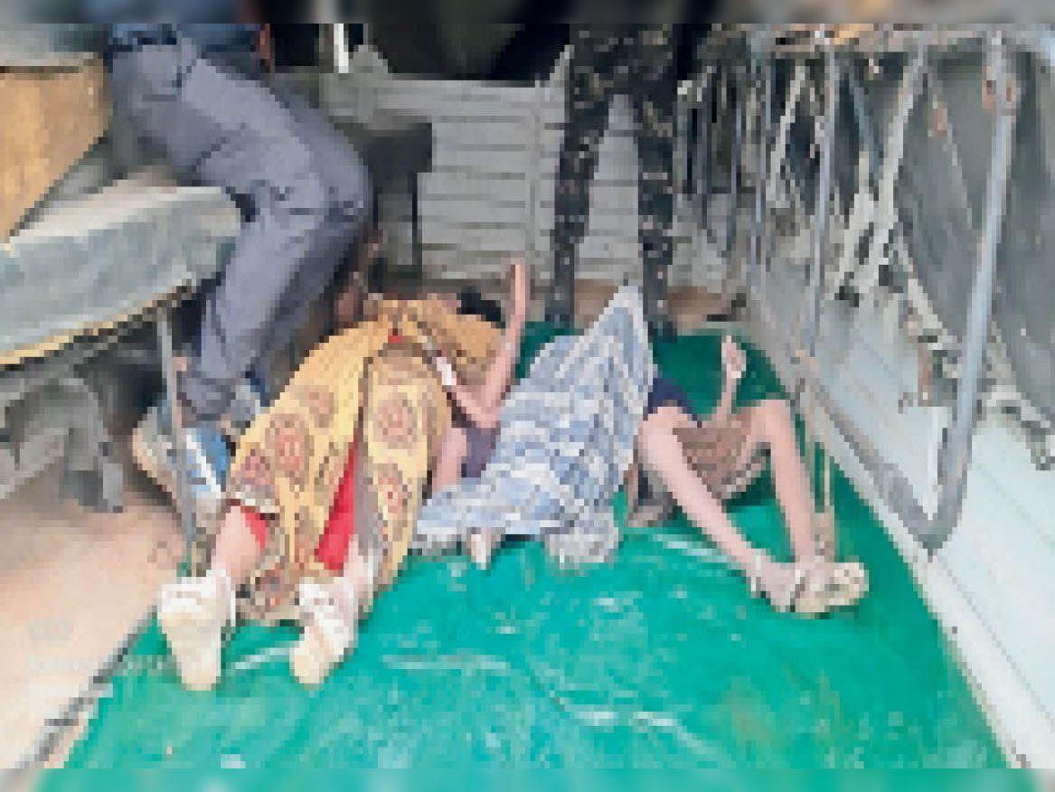 मृतकों की तस्वीर। - Dainik Bhaskar