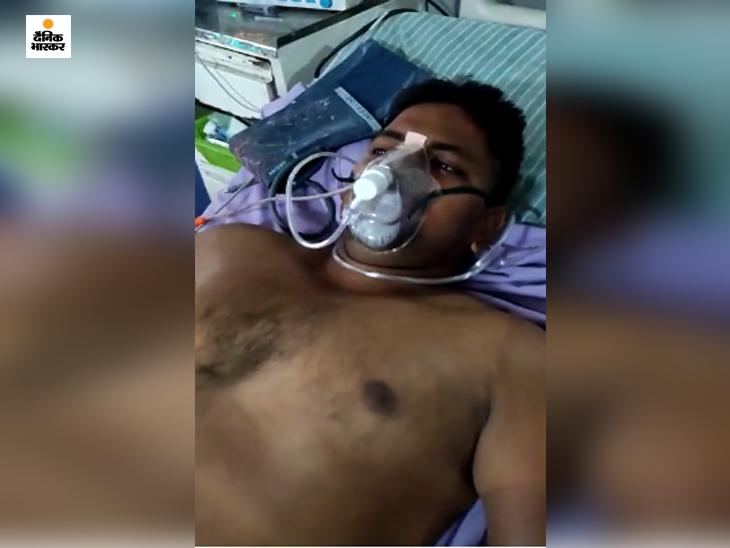 गोरखपुर में चुनावी रंजिश में बदमाश ने कपड़ा व्यापारी को गोली मारी, फिर 5 घंटे खुद की गाड़ी में लेकर उसे घुमाता रहा, ताकि चली जाए जान|गोरखपुर,Gorakhpur - Dainik Bhaskar