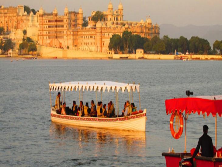 पॉल्यूशन और ज्यादा आवाज करने वालीफतहसागर से 21 और पीछोला से 18 नावें नहीं दौड़ेगी झीलों पर, प्री-वेडिंग फोटोशूट पर भी रोक|उदयपुर,Udaipur - Dainik Bhaskar