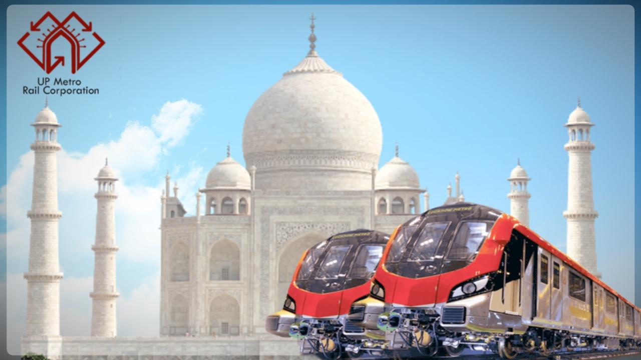 मुगलकालीन शैली की दिखेगी झलक, दिव्यागों और महिलाओं की सुरक्षा के होंगे विशेष इंतजाम...29 किमी के दो कॉरीडोर में होंगे 27 स्टेशन|आगरा,Agra - Dainik Bhaskar