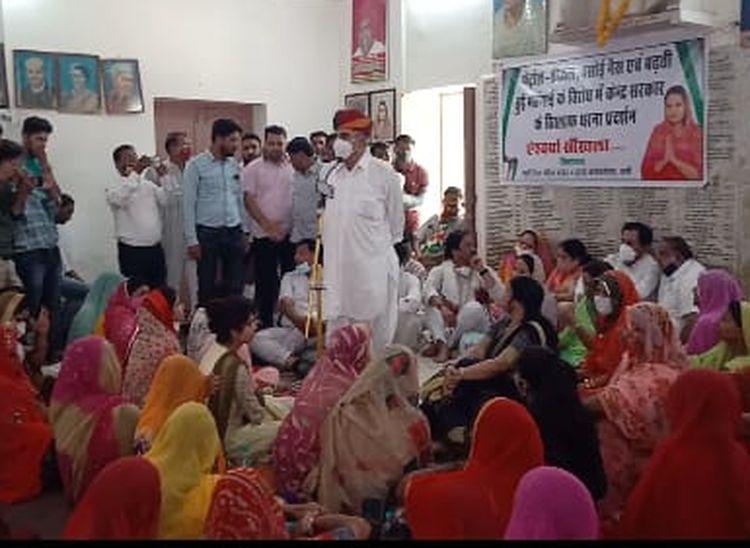 बोले- कांग्रेसी-कांग्रेसी को खा रहे इसलिए पार्टी की यह हालत हुई, पार्टी रही तो हम रहेंगे|राजस्थान,Rajasthan - Dainik Bhaskar