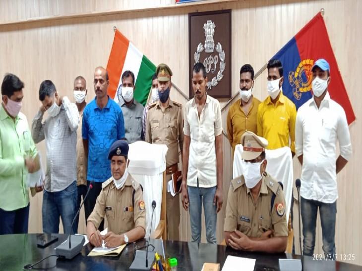 कौशांबी में पुलिस ने 25 हजार के इनामी शातिर तेल चोर को गिरफ्तार किया। - Dainik Bhaskar