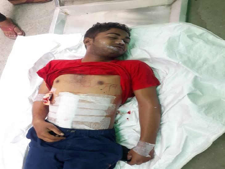 अज्ञात हमलावरों ने चाकू से मारकर किया घायल, इलाज के दौरान हुई मौत|मेरठ,Meerut - Dainik Bhaskar