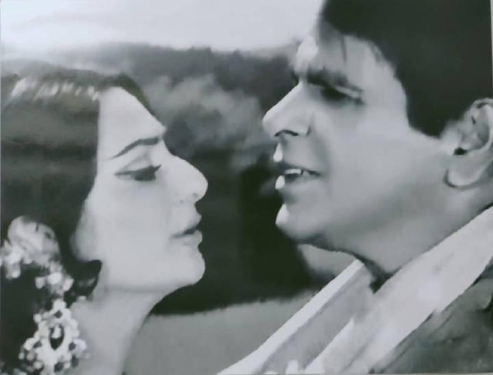 फिल्म बैराग की शूटिंग के दौरान क्लिक किया फोटो।