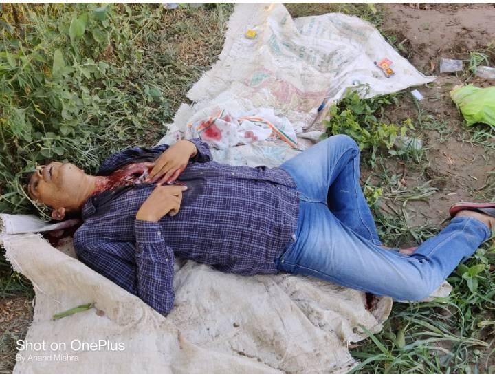 परीक्षितगढ़ निवासी नूर आलम जिसकी हत्या की गई - Dainik Bhaskar