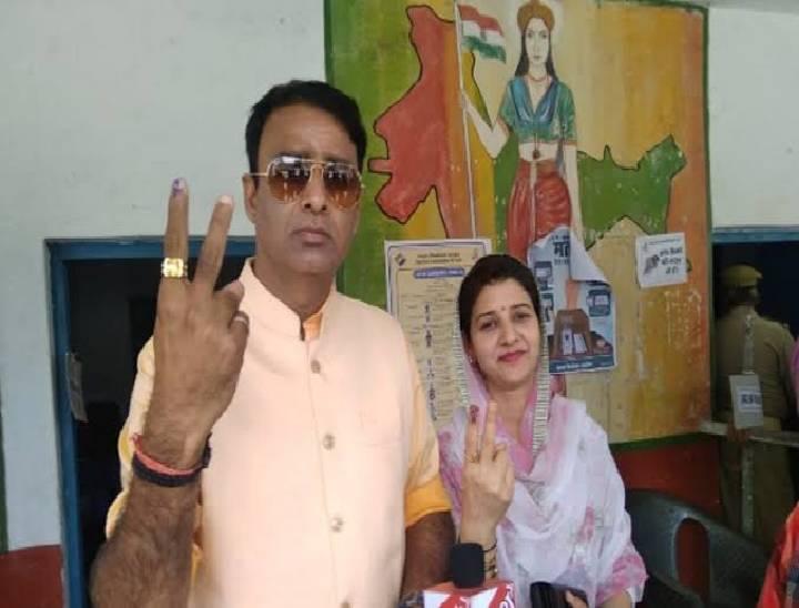 सरधना विधायक संगीत सोम की पत्नी को भाजपा ने बनाया ब्लाॅक प्रमुख पद का प्रत्याशी। - Dainik Bhaskar