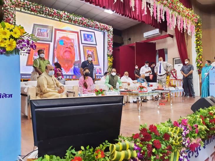 मुख्यमंत्री शिवराज सिंह चौहान ने विक्टाेरिया और पाटन में बच्चों के वार्ड का किया लोकार्पण, कहा तीसरी लहर से निपटने को हम तैयार हैं|जबलपुर,Jabalpur - Dainik Bhaskar