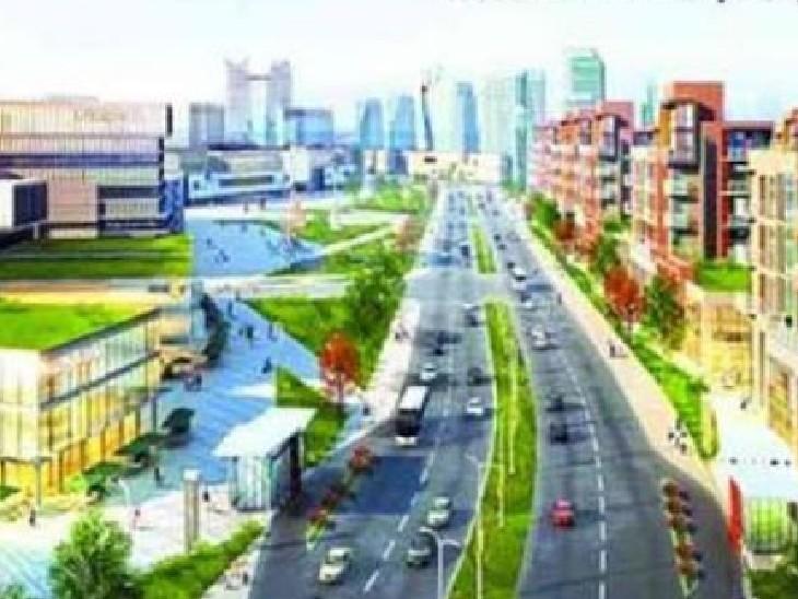 शहर के मास्टर प्लान 2035 पर मंगलवार को मंथन शुरू हुआ। - Dainik Bhaskar