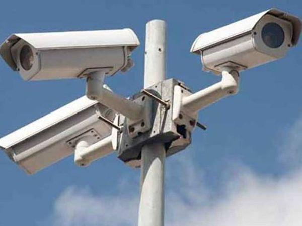 रेलवे स्टेशन पर लग रहे चेहरा पहचानने वाले कैमरे, संदिग्ध व्यक्ति के प्लेटफॉर्म पर पहुंचते ही बजेगा अलार्म|उज्जैन,Ujjain - Dainik Bhaskar