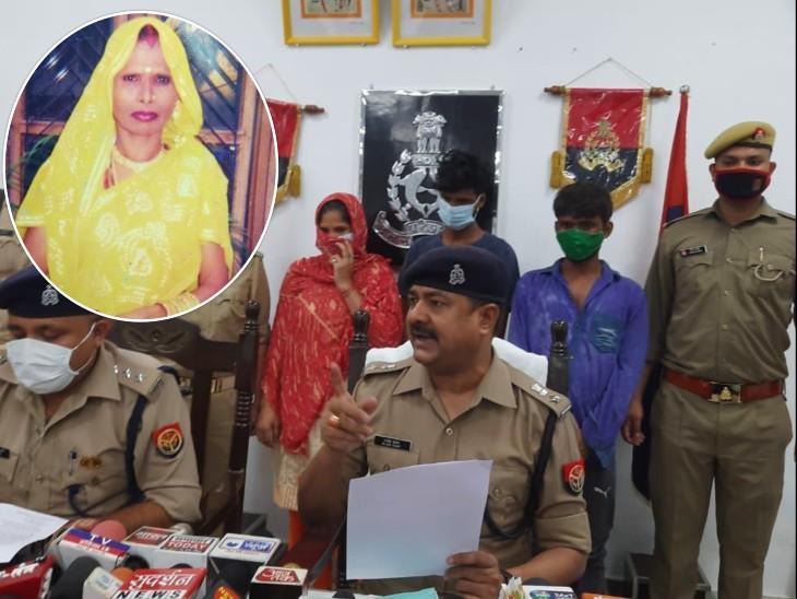 पड़ोसी की दीवार से घर में चोरी करने घूसे, गहने-कैश चोरी कर वृद्ध का गला घोंटा; बहू समेत तीन गिरफ्तार|सहारनपुर,Saharanpur - Dainik Bhaskar