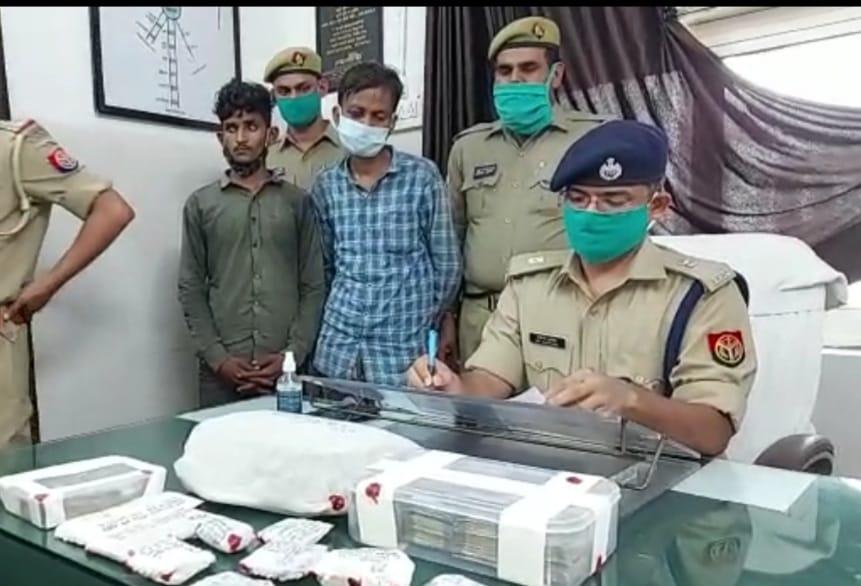 पश्चिम एक्सप्रेस ट्रेन से व्यापारी के साढ़े 6 लाख रुपए पार करने वाले शातिर गिरफ्तार। - Dainik Bhaskar