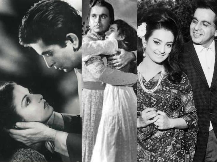 कामिनी कौशल और मधुबाला से अधूरा रह गया था प्यार, फिर 22 साल छोटी सायरा बानो से कर ली शादी बॉलीवुड,Bollywood - Dainik Bhaskar