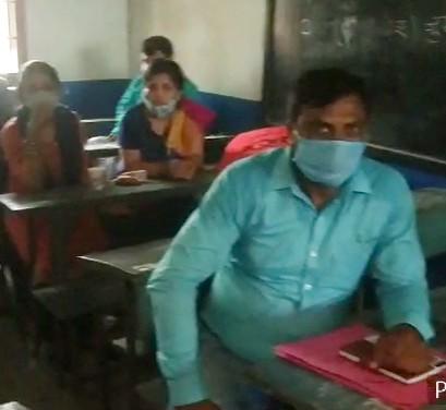 सहरसा में शिक्षक नियोजन की काउंसलिंग। - Dainik Bhaskar
