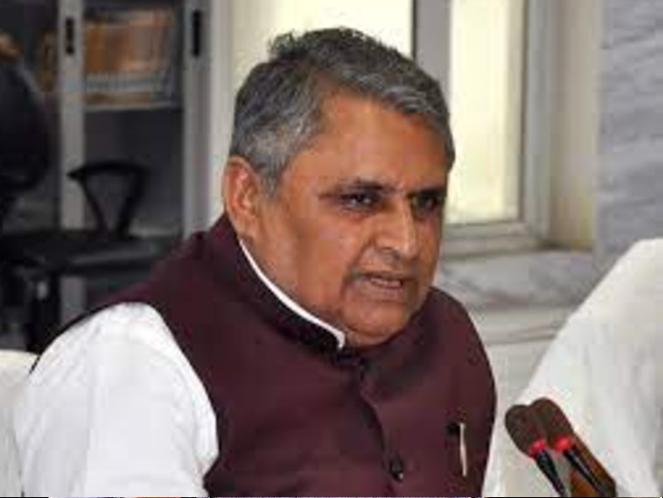 शिक्षा मंत्री, विजय चौधरी। - Dainik Bhaskar