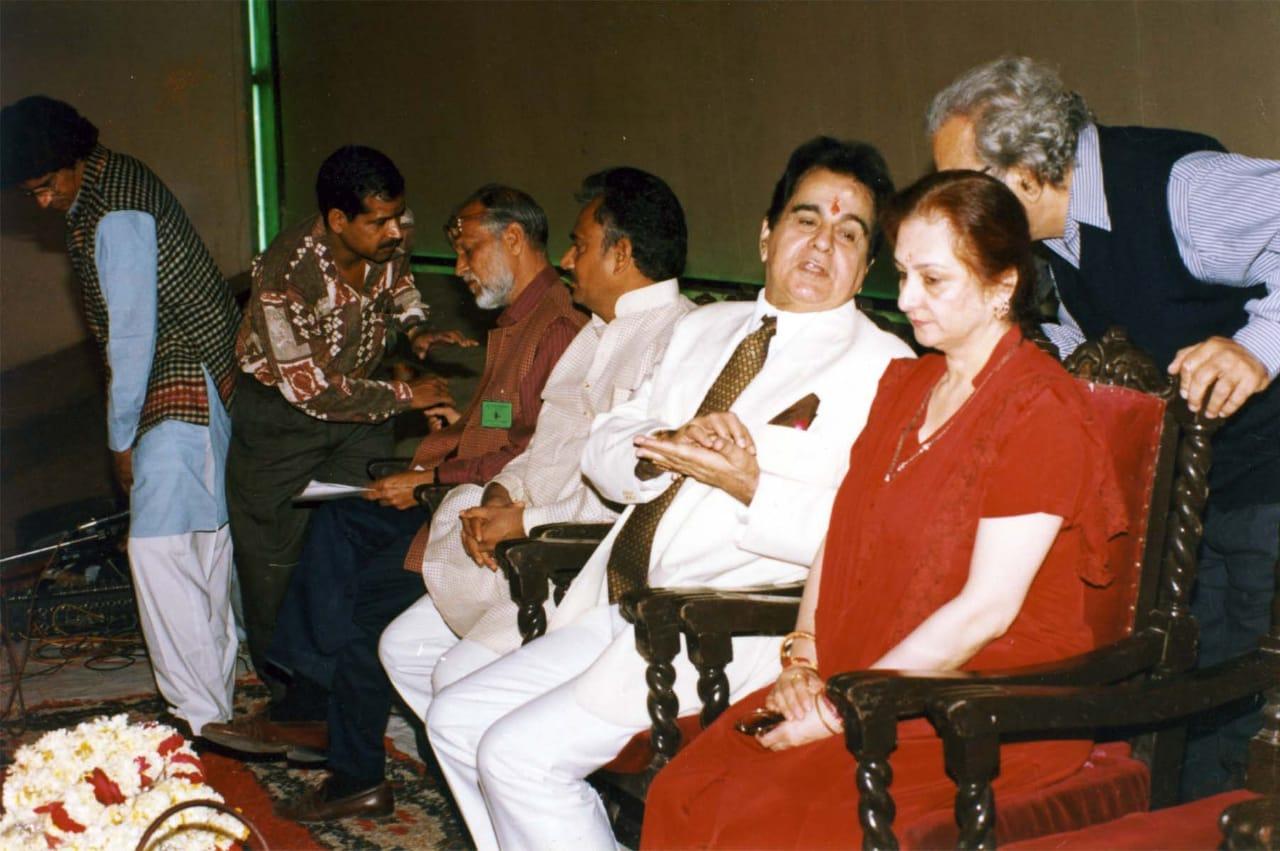 आयोजन का इनॉगरेशन करने दिलीप कुमार और सायरा बानो आई थीं।