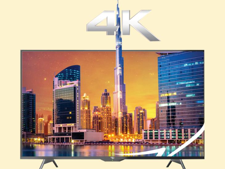 आईटेल ने दो 4K तो ब्लॉपंक्ट ने 4 नए स्मार्ट TV लॉन्च किए, एंड्रॉयड के लेटेस्ट ओएस का सपोर्ट दिया|टेक & ऑटो,Tech & Auto - Dainik Bhaskar
