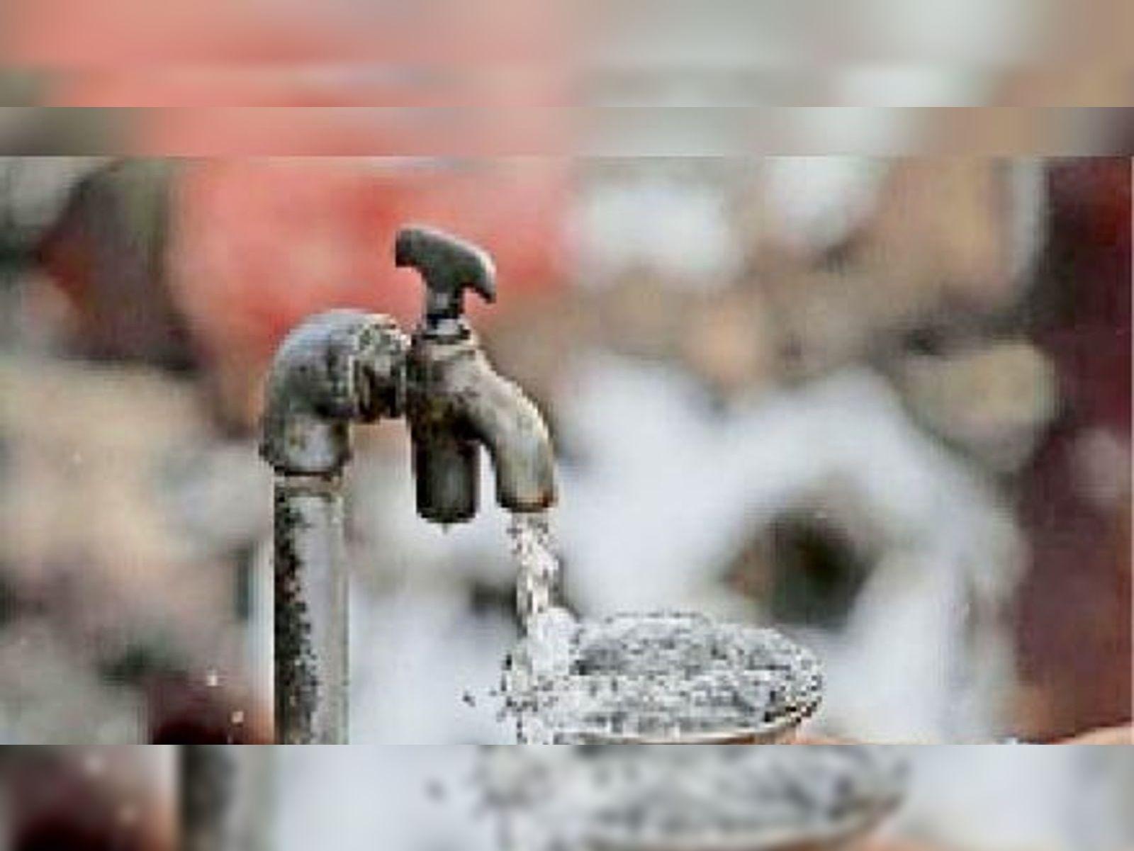 जल जीवन मिशन के पेयजल प्रोजेक्ट में बड़ी गड़बड़ी उजागर हुई है। - Dainik Bhaskar