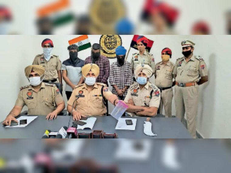 ऑर्केस्ट्रा का काम बंद होने पर खिलौना पिस्तौल दिखा दंपति ने शुरू की लूट की वारदातें, काबू|लुधियाना,Ludhiana - Dainik Bhaskar