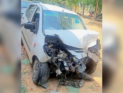 हरिद्वार जा रहे परिवार की कार ट्रक की चपेट में आई, एक की मौत, चार बच्चों समेत 7 जख्मी|लुधियाना,Ludhiana - Dainik Bhaskar