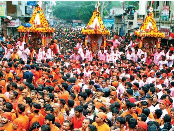 अहमदाबाद में 12 जुलाई को निकलेगी रथयात्रा। - Dainik Bhaskar