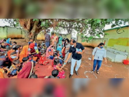 पाटन के खोरपा गांव में मनाया गया वजन त्योहार। - Dainik Bhaskar
