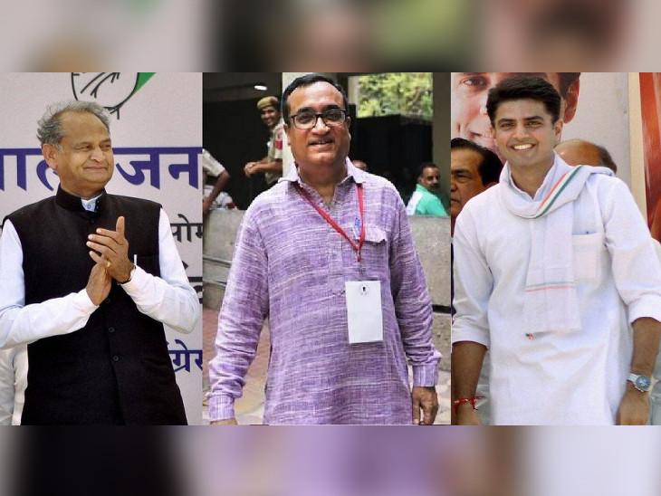 पायलट गुट से मंत्री बनाने पर राजी नहीं गहलोत, केवल राजनीतिक नियुक्तियों और संगठन में पद देने के पैटर्न पर ही सहमत|जयपुर,Jaipur - Dainik Bhaskar