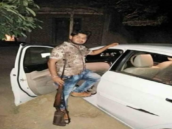 विकास दूबे के नाम से फेक आईडी बनाकर आईजी को मारने की दी थी धमकी, पुलिस ने बरामद किया असलहे का जखीरा|कानपुर,Kanpur - Dainik Bhaskar