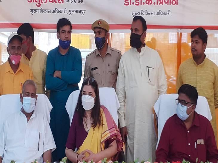 सुलतानपुर  में दो दिन के दौरे परथी मेनका गांधी, मंत्रिमंडल में जगह ने मिलने के सवाल पर दिया जवाब- कहा कितनों को मंत्री बनाएंगे पीएम सुलतानपुर,Sultanpur - Dainik Bhaskar