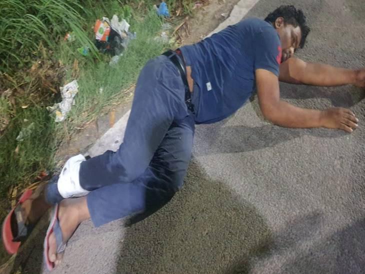 पुलिस को सूचना मिली थी कि शातिर वाहन चोर गिरोह के सदस्य किसी बड़ी घटना को अंजाम देने जा रहे हैं। - Dainik Bhaskar