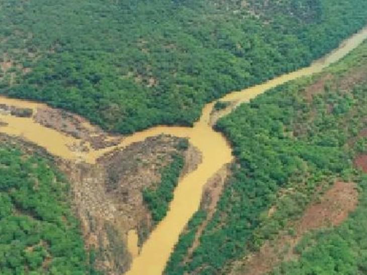 रणथंभाैर में बाघाें के संघर्ष काे राेकेगा रामगढ़ विषधारी टाइगर रिजर्व, लेकिन यहां प्रे-बेस की समस्या, आठ गांवों का रिलोकेशन भी चुनौती कोटा,Kota - Dainik Bhaskar