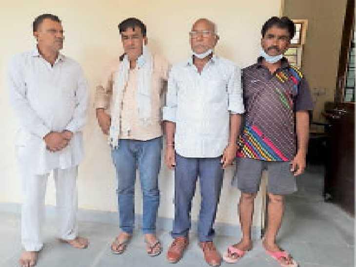 एक करोड़ के प्लॉट का फर्जी पट्टा बनवाया, चार गिरफ्तार, जांच के दायरे में नगर परिषद व सब रजिस्ट्रार|सीकर,Sikar - Dainik Bhaskar
