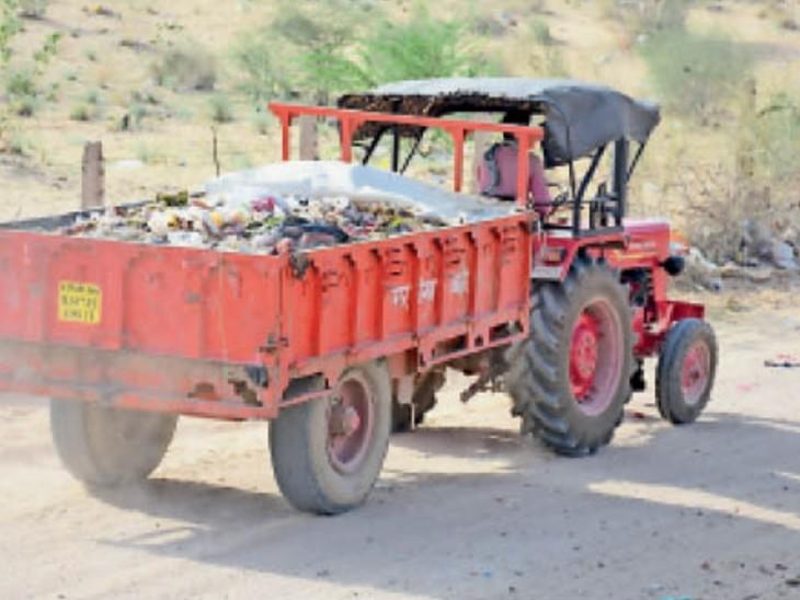 भास्कर ने निगम के कचरा कलेक्शन सिस्टम की पड़ताल की तो चौंकाने वाली बात सामने आई। - Dainik Bhaskar