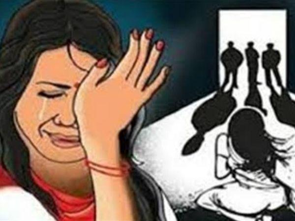 युवती से 7 दरिंदाें ने एक ही रात में 3 जगह किया गैंगरेप, 4 जुलाई की रात की घटना को पुलिस ने छिपाया|अलवर,Alwar - Dainik Bhaskar