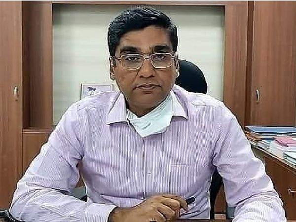 कलेक्टर कुमार पुरुषोत्तम - Dainik Bhaskar