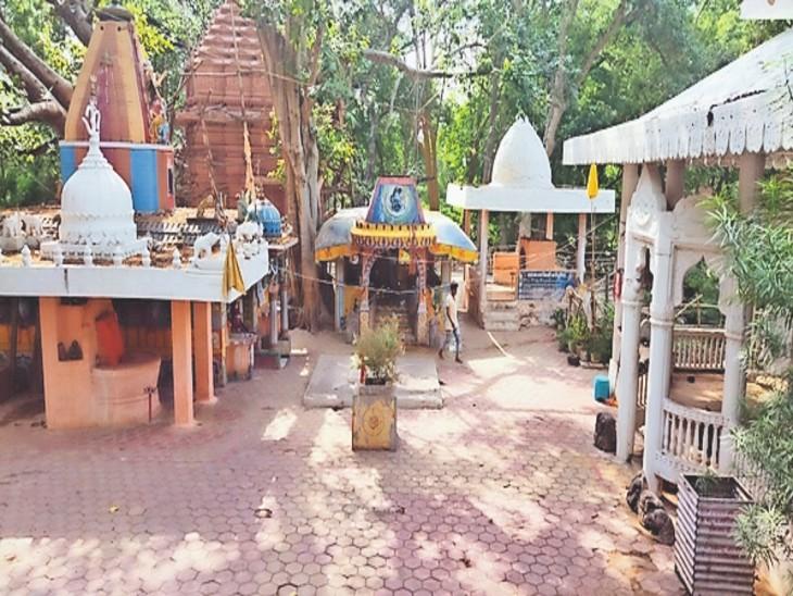 नन्हेश्वरधाम को पर्यटन स्थल बनाने की मांग की गई। - Dainik Bhaskar
