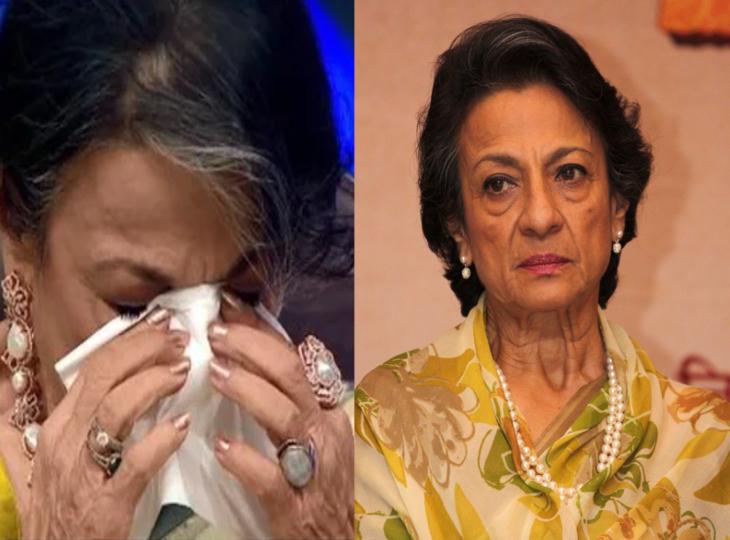 बेटी काजोल ने वीडियो मैसेज में कहा, मां ने मुझे बेहतरीन परवरिश का तोहफा दिया, ये सुन रो पड़ीं तनुजा टीवी,TV - Dainik Bhaskar