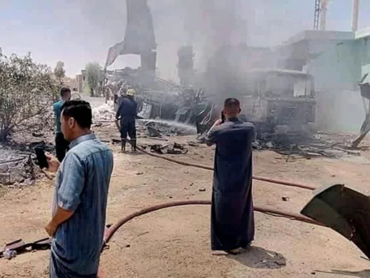 बगदाद में US एम्बेसी पर एक के बाद एक तीन रॉकेट दागे गए; दो दिन पहले ही सेना ने दूतावास के पास घूम रहे एक ड्रोन को मार गिराया था विदेश,International - Dainik Bhaskar