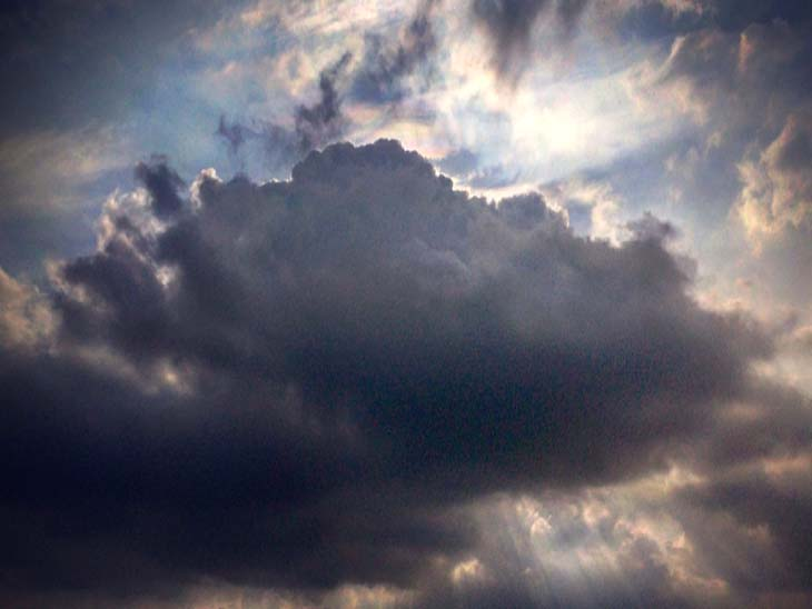 चंडीगढ़ में आज सुबह से चल रही ठंडी हवा, आकाश मेंछाए बादल और देर शाम हुई हल्की बूंदाबांदी से 9 डिग्री तापमान गिरा|चंडीगढ़,Chandigarh - Dainik Bhaskar