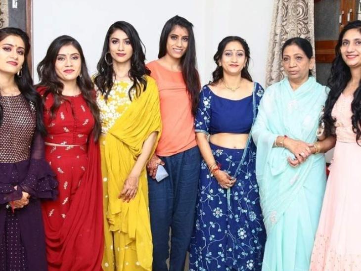 जोधपुर की भागवंती ने पति के निधन के बाद सात बेटियों की जिम्मेदारी अकेले संभाली, सारी दुनिया में मशहूर उनका एमवी मसाला ब्रांड, बेटियों को कहा जाता है भारत की स्पाइस गर्ल|लाइफस्टाइल,Lifestyle - Dainik Bhaskar