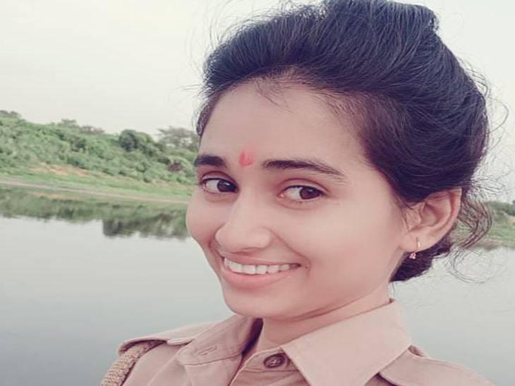 महिला सिपाही नीलम कुमारी की फोटो। - Dainik Bhaskar