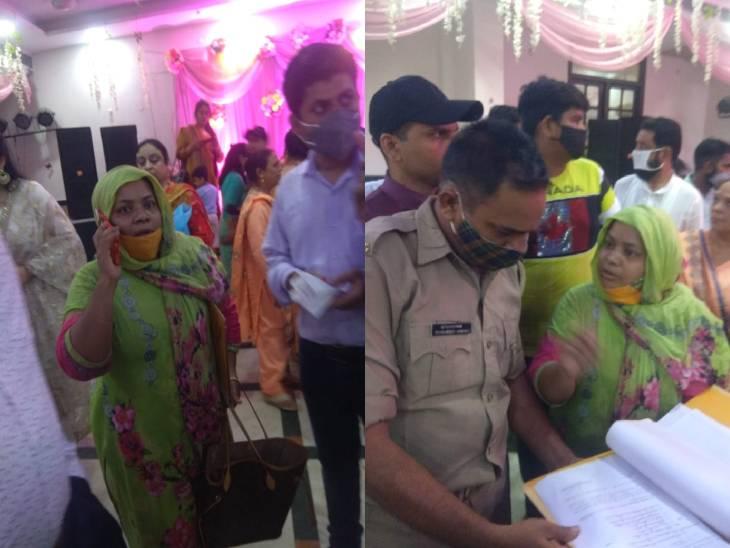 सहारनपुर में युवक बिना तलाक दिए रचा रहा था दूसरी शादी, पार्टी के दौरान पहली पत्नी ने काटा हंगामा...पुलिस के पहुंचने से पहले ही दूल्हा फरार|सहारनपुर,Saharanpur - Dainik Bhaskar