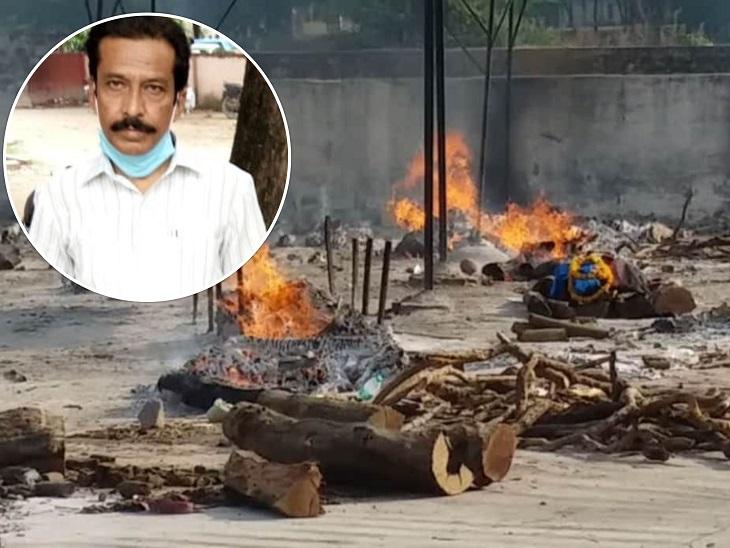 प्रयागराज के आरिफ ने 7 साल में 495 लाशों को उनके परिवार वालों को सौंपा, कोरोना में भी पोस्टमार्टम हाउस में ही डटे रहे|प्रयागराज (इलाहाबाद),Prayagraj (Allahabad) - Dainik Bhaskar