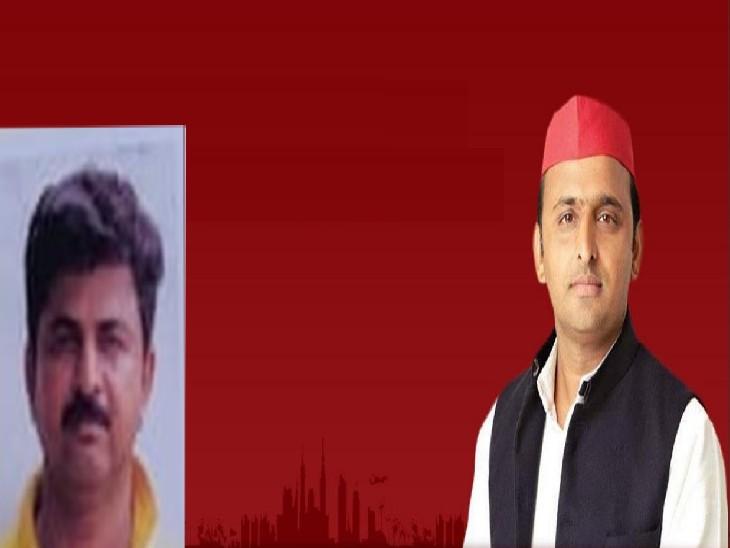 सपा ने मुजफ्फर को बनाया अपना उम्मीदवार, आवेदक और प्रस्तावकों ने ब्लाक प्रमुख पद का भरा पर्चा|प्रयागराज (इलाहाबाद),Prayagraj (Allahabad) - Dainik Bhaskar
